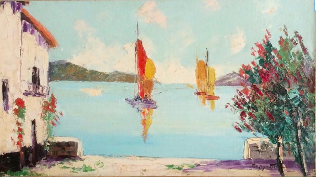 Cecil Rochfort Doyly John (1906-1993) Oil on board