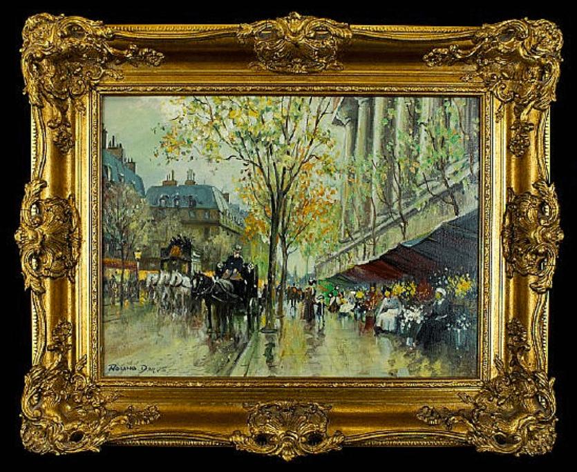 Roland Davis (British 1904 - 1993) Original Oil On Canvas