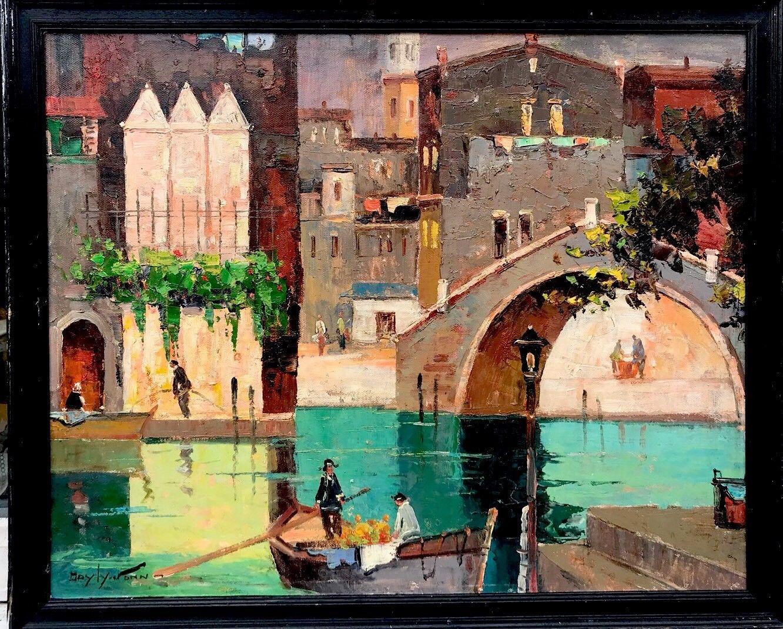 Cecil Rochfort Doyly John. Oil on canvased board.