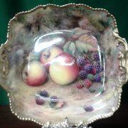 Worcester fruits plaque artist, T Lockyer