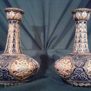 Pair of Doulton vases