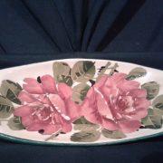 Scottish Wemyss Roses dish