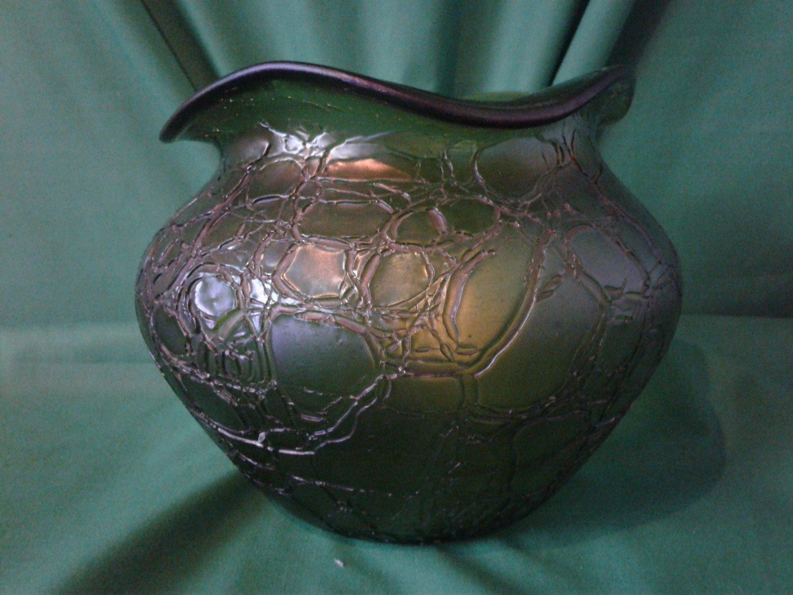 Fine Loetz iridecent bowl circa 1900s