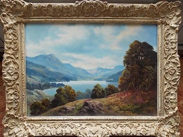 Douglas Falconer Oil painting