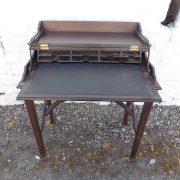 Edwardian Mahogany Folding Top Desk