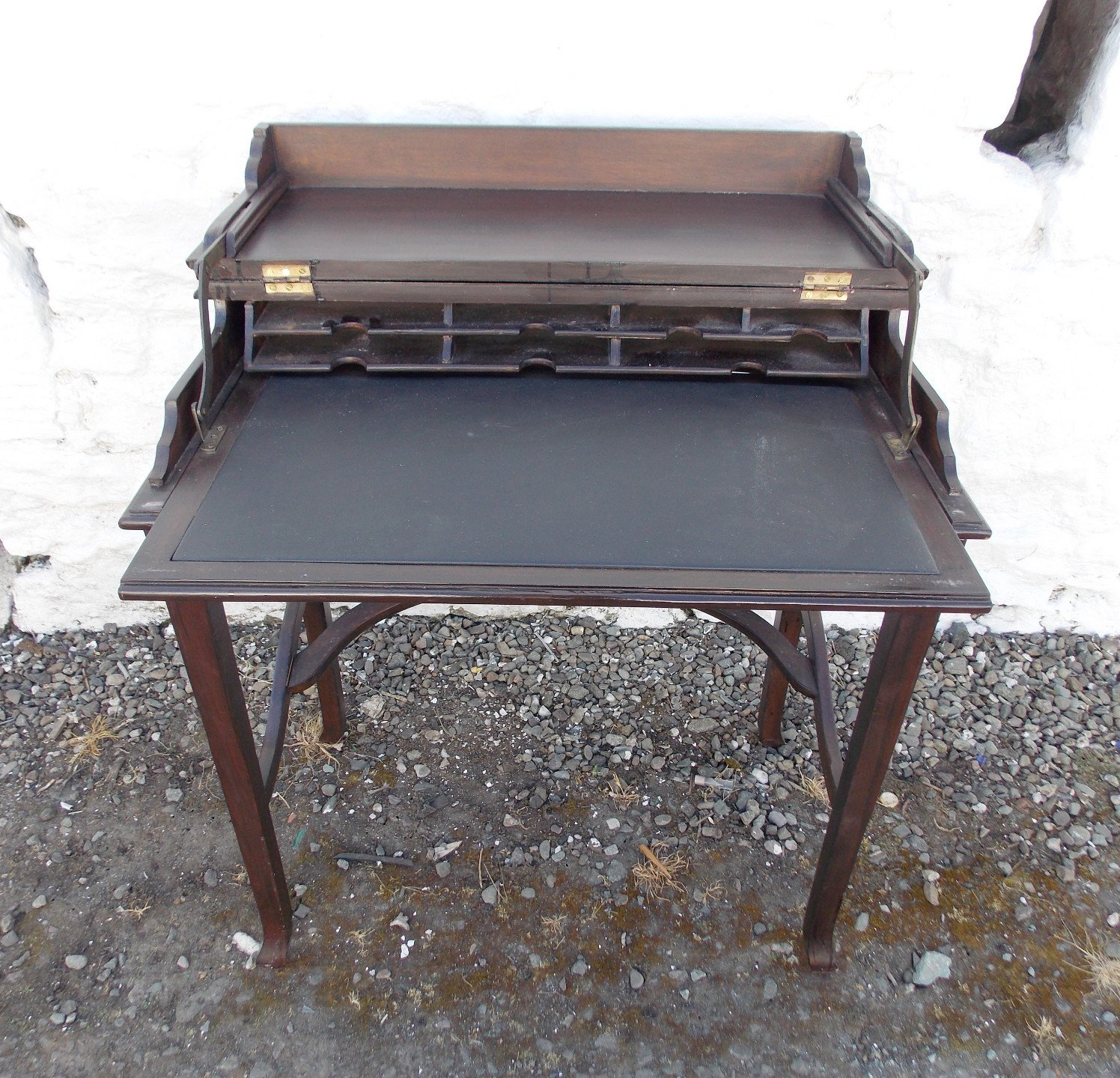 Edwardian Mahogany Folding Top Desk
