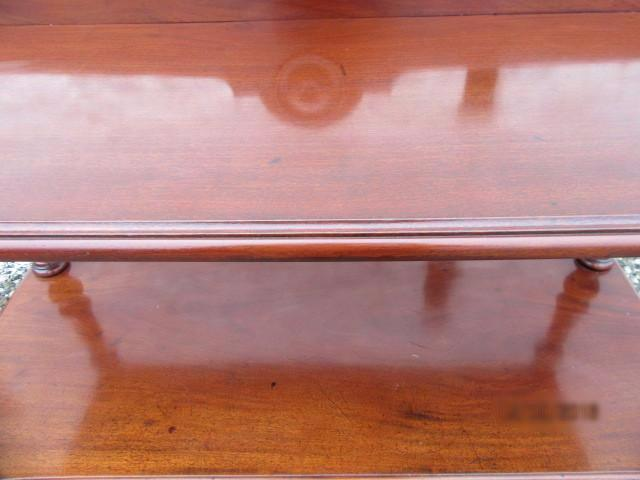 Victorian mahogany buffet sideboard