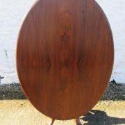 Victorian walnut tilt top loo table.