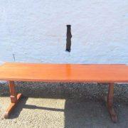 Victorian mahogany refectory table