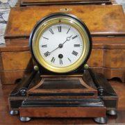 Regency drumhead mantle clock