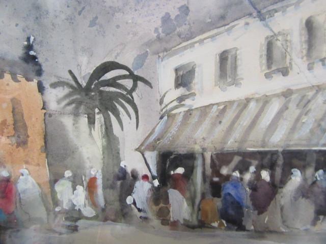 Hercules Brabazon Brabazon. N.E.A.C. (1821-1906) Watercolour