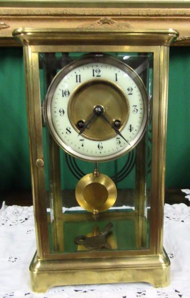 Edwardian Four Glass clock