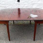 Georgian double D end dining table
