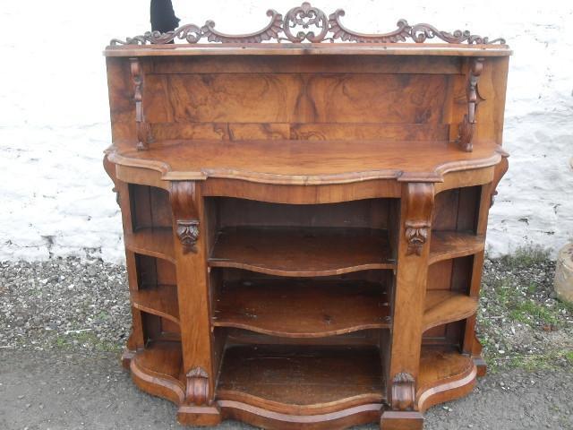 Victorian Burr walnut sideboard