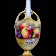 Royal Worcester Vase 'Fallen Fruits' George Moseley