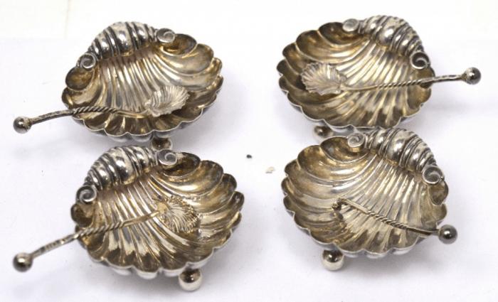 Victorian silver salts