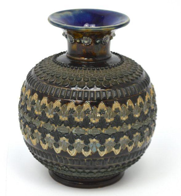 19th century Doulton Lambeth stoneware vase