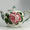 Scottish Wemyss Teapot. Decorated with roses.