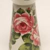 Wemyss pottery cylinder vase. (cabbage roses)