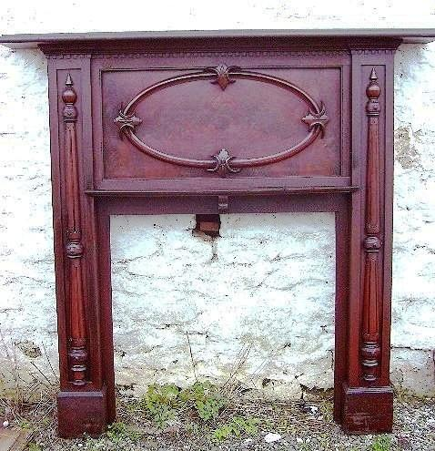 Victorian Mahogany Fire Surround