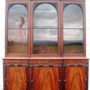 William IV Mahogany Library Bookcase