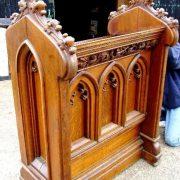 Victorian Auctioneers rostrum.