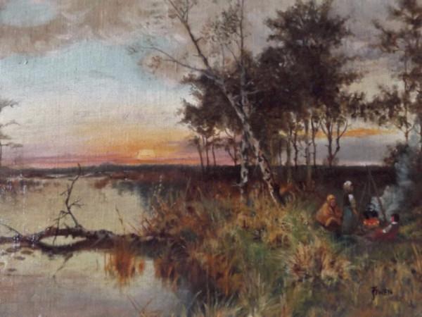 "J. Owen"" a pseudonym of Scottish Artist ""F.E. Jamieson"