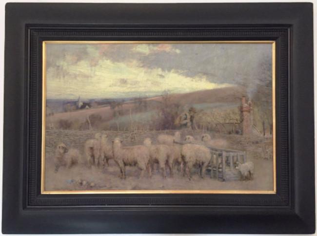 James Thwaite Irving. Oil on canvas
