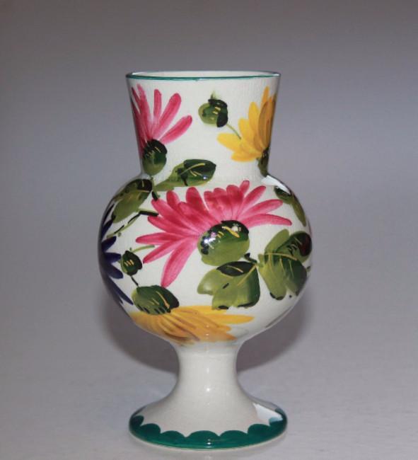 Rare Scottish Pottery Wemyss Chrysanthemum Vase Many Wemyss Items